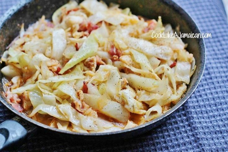 Jamaican Cabbage and Saltfish Recipe | Cook Like a Jamaican