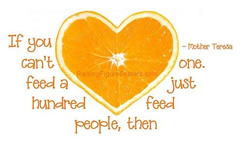 """Feed Just One"" Word Art Freebies"