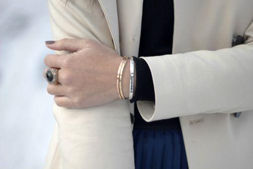 delicate (via color me happy): Bracelets, Delicate, Happy, Colors, Posts, Fashion Florence, Accessorize Etc