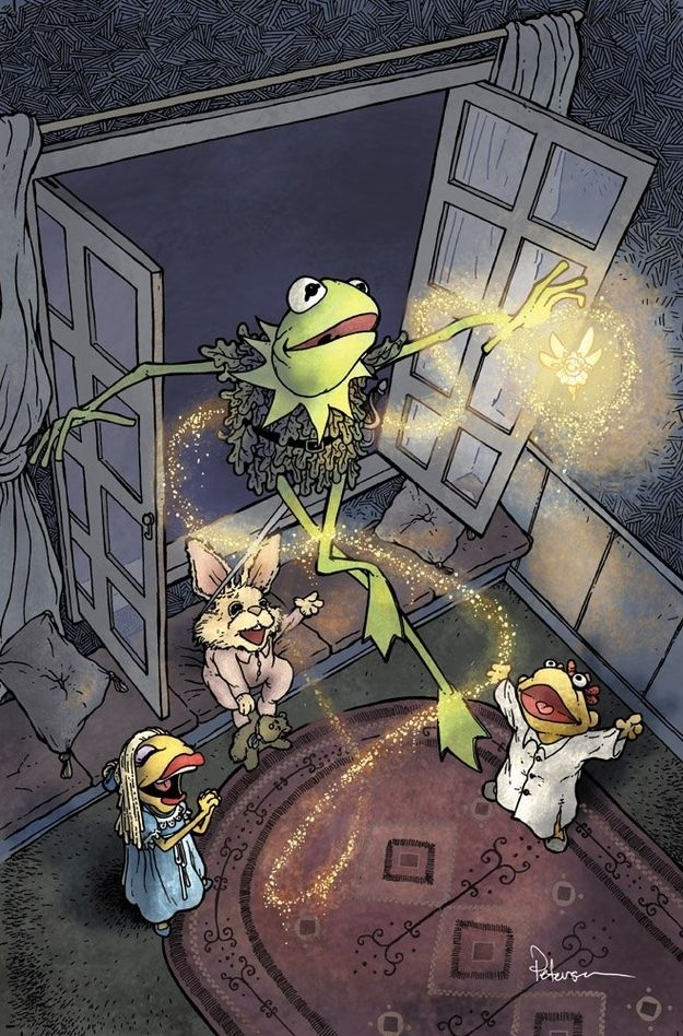 Comic book artist David Petersen recreates the Muppets as classic fairy tale characters for BOOM! Studios' line of Muppet Fairy Tales comics.