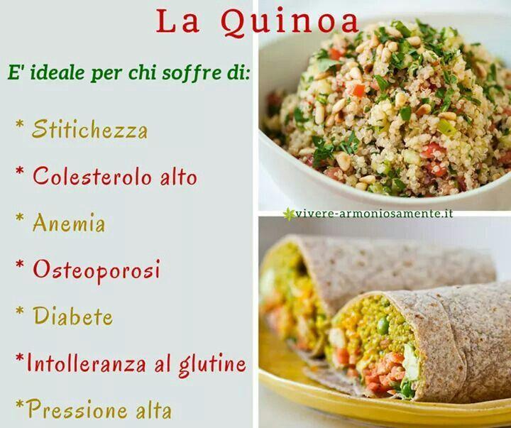 Ricette con la quinoa per perdere peso
