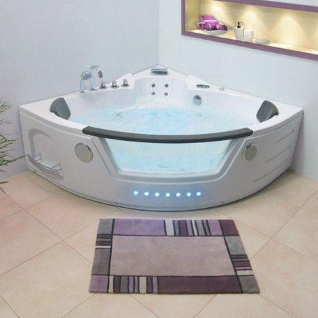 Les 25 meilleures id es de la cat gorie baignoire balneo sur pinterest baig - Mini baignoire d angle ...