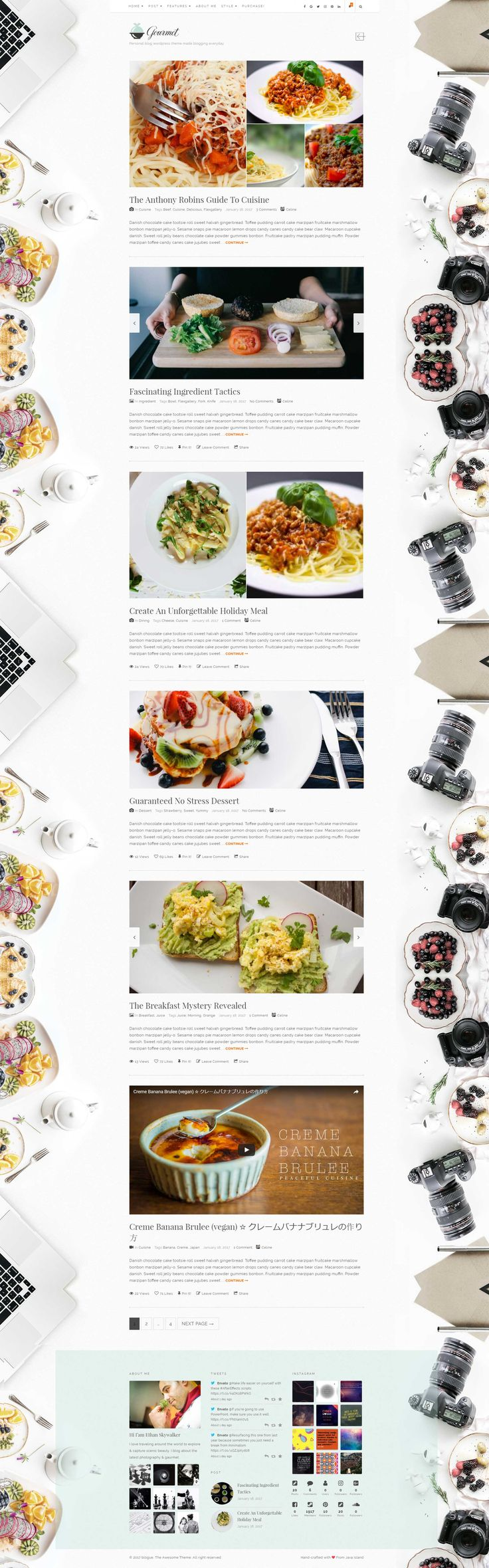 Blogue - Personal WordPress Blog Theme