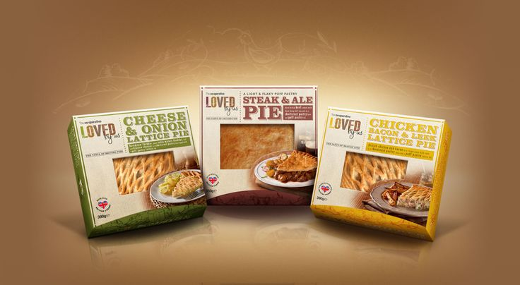 Loved By Us Pies Packaging Design by Equator Design