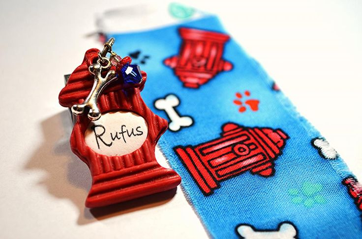 Fire Hydrant (made for a matching collar & tag set)