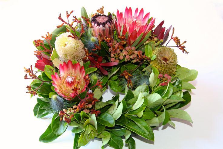 A beautiful native inspired wreath