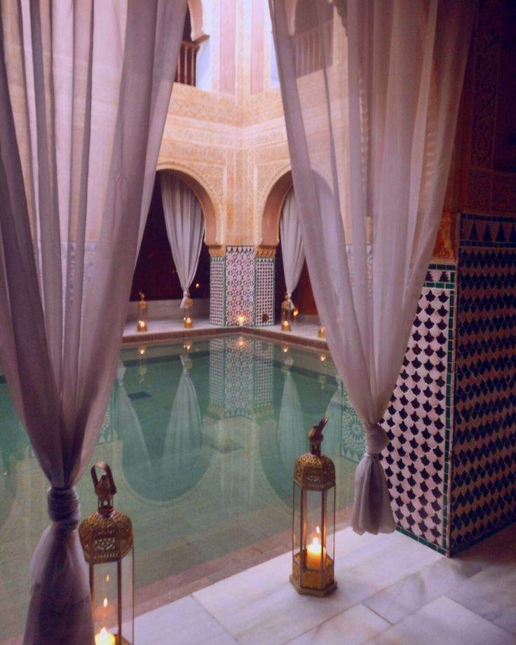 Arabic Hammam Al Andalus In Malaga Spain Enjoy A Traditional Kessa Massage Before Relaxing In The Hot Warm And Cold Baths And Steam Room Banos