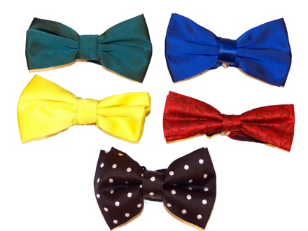 Le Chateau - Pattern and Solid Bow Ties