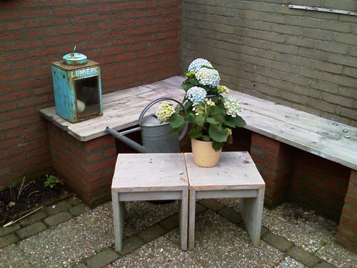 11 best images about tuinbank on Pinterest   Gardens, Home and Tuin