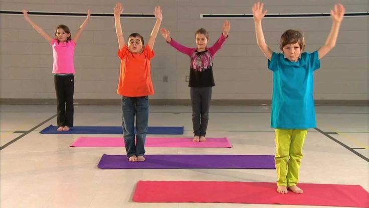 yoga - salutation au soleil