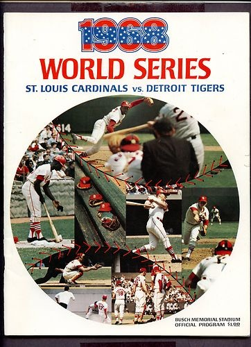 1968 World Series Program St Louis Cardinals vs Detroit Tigers Scored | eBay