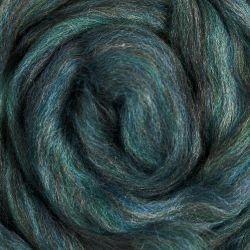 Enabler Alert!  Ashland Bay Colonial Wool Roving Spinning Fiber - Multi-Color - Blue Green on sale!