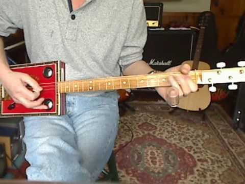 cigar box electric guitar
