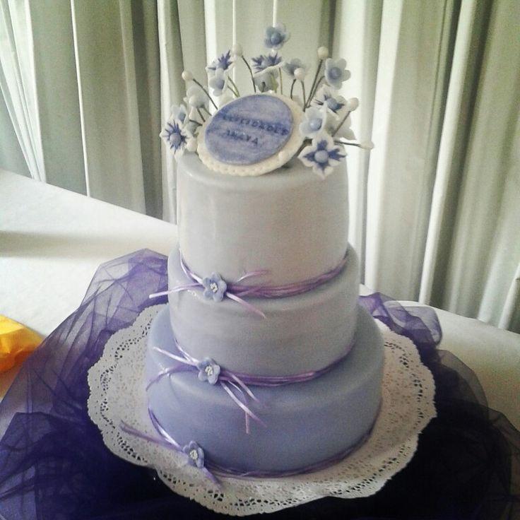 """Torta """"Lila y flores"""""""