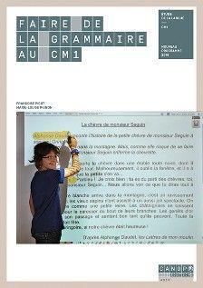 Faire de la grammaire au CM1  http://cataloguescd.univ-poitiers.fr/masc/Integration/EXPLOITATION/statique/recherchesimple.asp?id=195581555