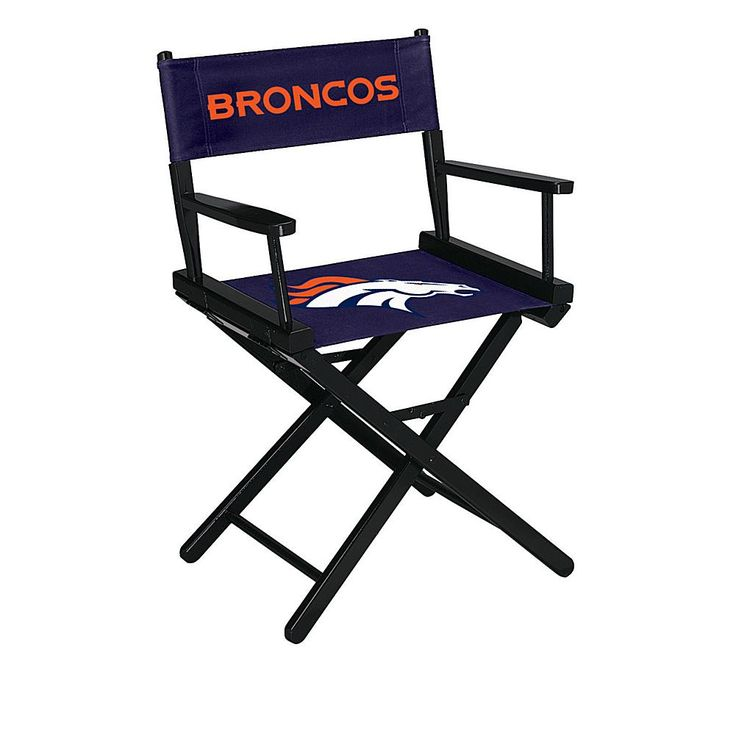 Officially Licensed NFL Table Height Director's Chair - Broncos