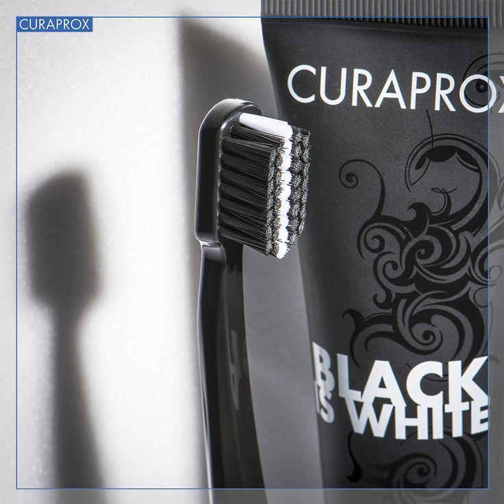 Black is White Curaprox