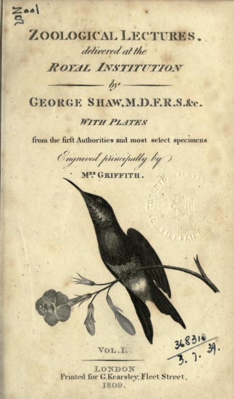 1 - Zoological lectures delivered at the Royal Institution - Biodiversity Heritage Library