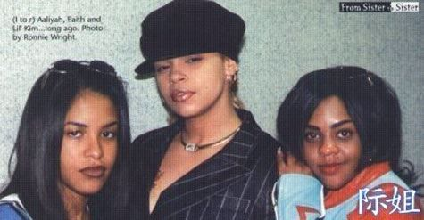 Wed throwback Aaliyah, Faith & Lil Kim
