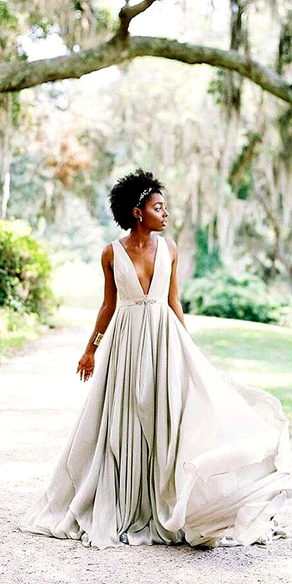 Would you say you prefer elegance over decadence? If so, one of these 24 beautifully simple wedding dresses may be #ThePerfectDress for you! #DTTSWedding