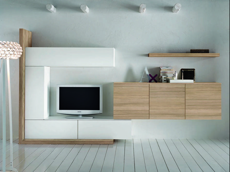 Soggiorno moderno bianco nero arredamento per la casa for Arredamento soggiorno moderno in legno