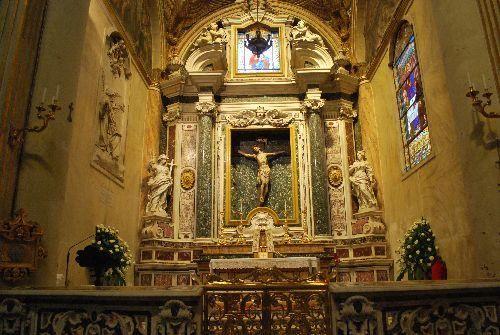 Lecce - Cattedrale Santa Maria Assunta - Cappella del SS. Sacramento, meglio nota col nome del Crocefisso