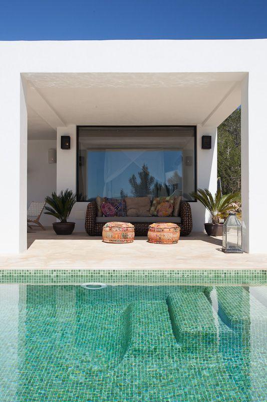 zwembad villa Ibiza I Kabaz