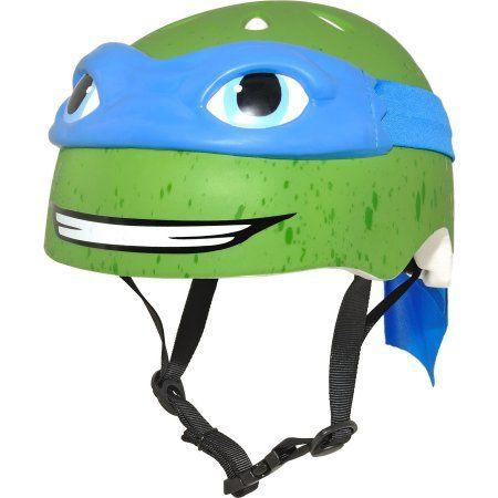 Nickelodeon Teenage Mutant Ninja Turtles Leonardo 3D Bike Helmet, Child, Blue