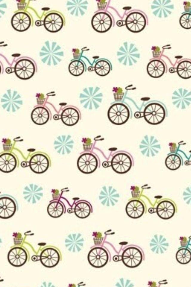 bike / bicycle background iPhone wallpaper