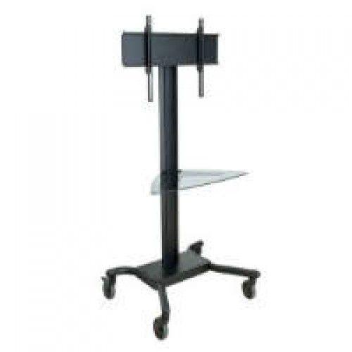 Pedestal con ruedas de piso para pantallas tv 32 a 60 pulgadas