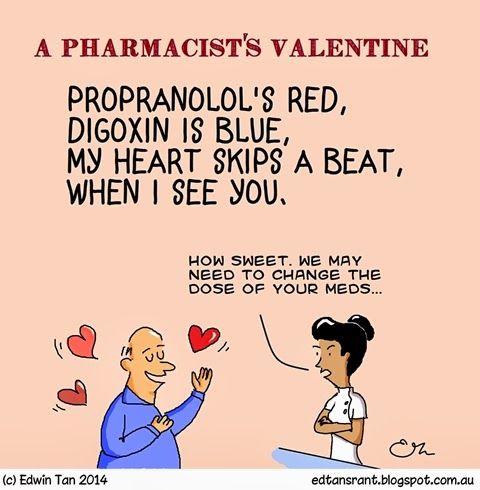 Ed's Rant.: A Pharmacist's Valentine