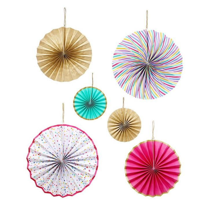 Pinwheel Decorations | Stocking Fillers | Oliver Bonas