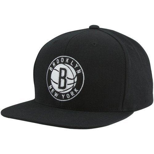 Mitchell & Ness Brooklyn Nets Solid Snapback - Men ( Black ) Mitchell & Ness. $29.97