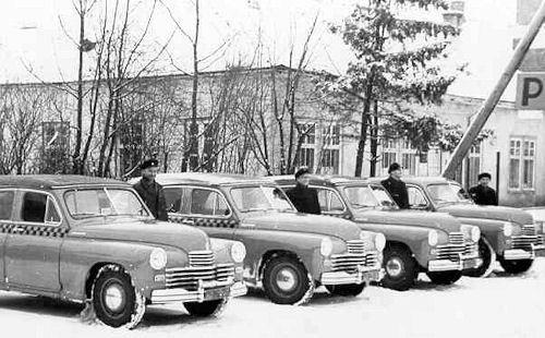 1949 GAZ-m20 TAXI kabp