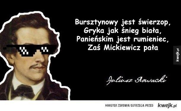 Słowacki vs Mickiewicz