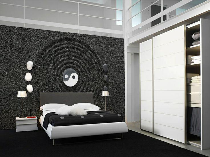 Yin and yang wall mural wall murals murals and yin and yang for Meuble mural yin yang