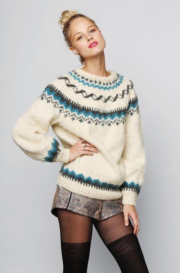 86 best nordic fair isle tribal sweaters images on pinterest tribal sweater fair isle - Fair isle pullover damen ...