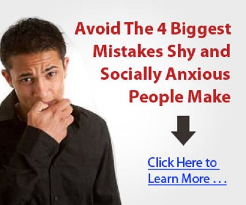 overcome shyness and anxiety fast.