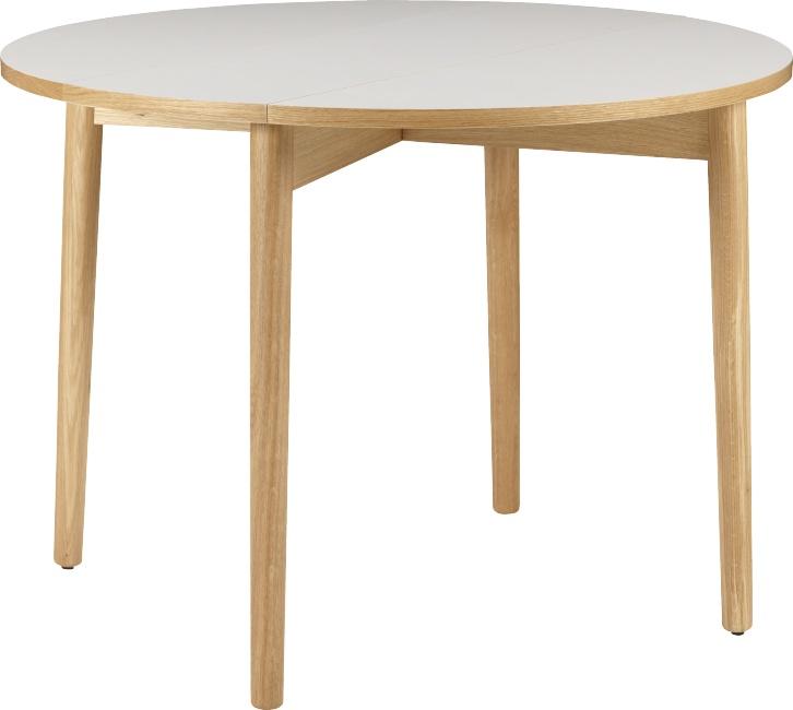 Suki table de salle manger habitat deco mobilier for Table 90x90 extensible
