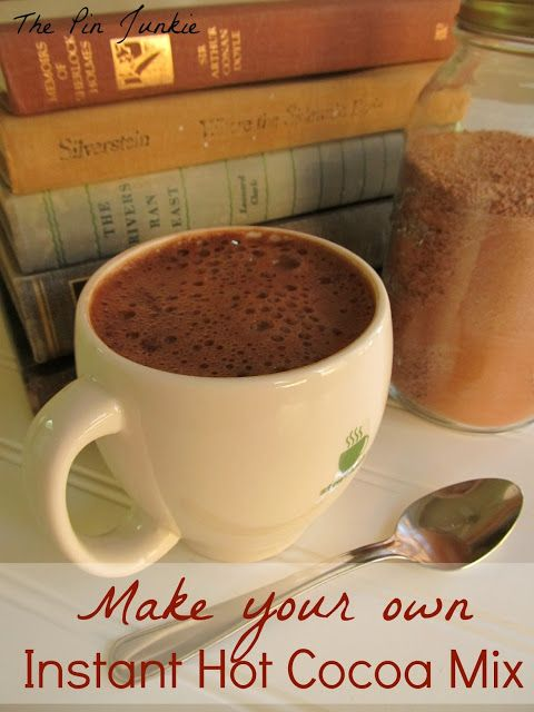 Make Your Own Instant Hot Cocoa Mix