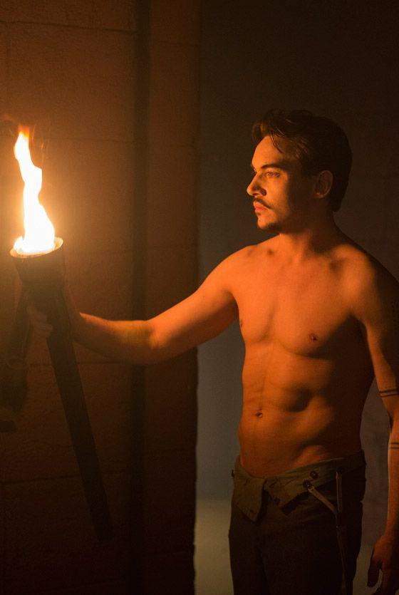 Jonathan Rhys Meyers topless in Episode 3 of Dracula TV Series - sky.com/dracula