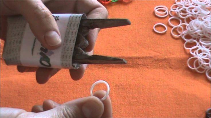 DIY Como hacer pulseras de gomas