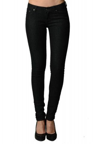 Jet Black Skinny Jeans | Home Goods Galore