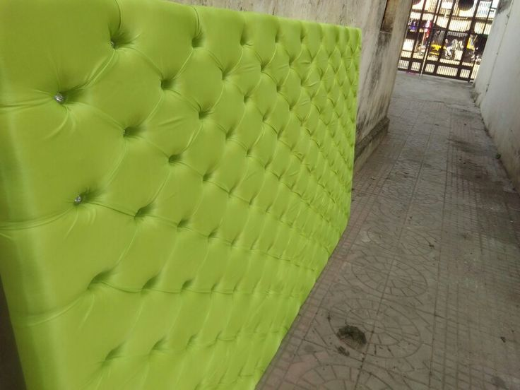 Chesterfield headboard. manufacturer  by MY HOME DECOR nagpur (india). We are specialize in chesterfield design
