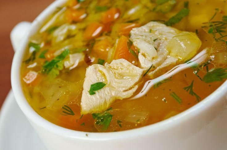 Une délicieuse soupe touski (tout ce qui reste) avec votre dinde en trop...
