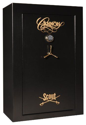 Cannon Safe S40 Scout Series Fire Safe, Hammer-Tone Black by Cannon Safe. $1495.00. Amazon.com                Cannon Safe's S40 Scout Series fire safe—available in hammer-tone grey and hammer-tone black—is a full-featured safe offering trademark Cannon quality, security, and good looks. With solid fire protection, rugged construction, and a wide variety of amenities, the S40 is the ultimate value for storing your most treasured possessions, from guns and am...