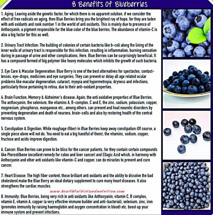 8 Benefits of Blueberries