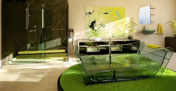 Med en obegränsad budget kan du ta ut svängarna ordentligt i badrummet. Här är 23 extra lyxiga badrum att inspireras av, eller bara drömma sig bort för en stund.