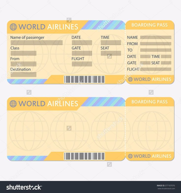 8 best Goal to Fly images on Pinterest Card wedding, Design - plane ticket template