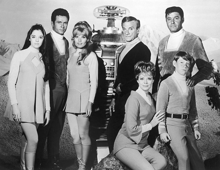 June Lockhart, Angela Cartwright, Mark Goddard, Jonathan